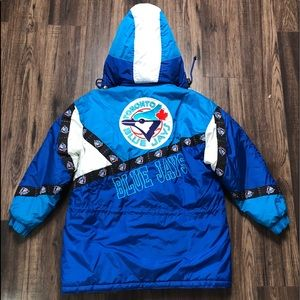 VINTAGE NEWFACE BLUE JAYS FULL ZIP JACKET